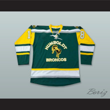 Humboldt Broncos 18 Humboldt Strong Green Hockey Jersey
