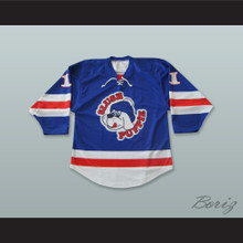 Hogan 11 Slush Puppie Blue Hockey Jersey