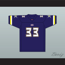 James Bostic 33 Birmingham Thunderbolts Home Football Jersey