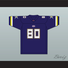 Stepfret 'Step' Williams 80 Birmingham Thunderbolts Home Football Jersey
