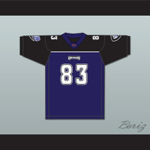 Aaron Bailey 83 Chicago Enforcers Home Football Jersey