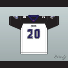 John Avery 20 Chicago Enforcers Away Football Jersey