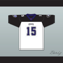 Kevin McDougal 15 Chicago Enforcers Away Football Jersey