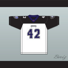 LeShon Johnson 42 Chicago Enforcers Away Football Jersey
