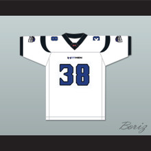 Joe Aska 38 New York-New Jersey Hitmen Away Football Jersey