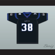 Joe Aska 38 New York-New Jersey Hitmen Home Football Jersey