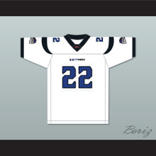 Keith Elias 22 New York-New Jersey Hitmen Away Football Jersey