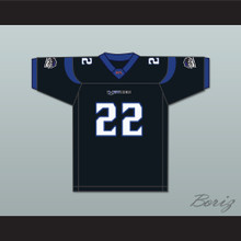 Keith Elias 22 New York-New Jersey Hitmen Home Football Jersey