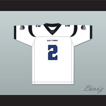 Leo Araguz 2 New York-New Jersey Hitmen Away Football Jersey