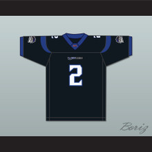 Leo Araguz 2 New York-New Jersey Hitmen Home Football Jersey