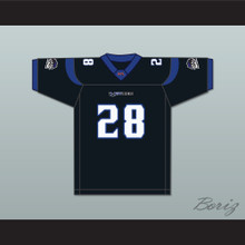 Mike Archie 28 New York-New Jersey Hitmen Home Football Jersey