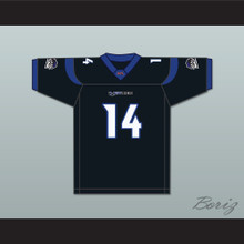 Wally Richardson 14 New York-New Jersey Hitmen Home Football Jersey