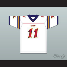 Jeff Brohm 11 Orlando Rage Away Football Jersey