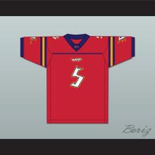 Mario Bailey 5 Orlando Rage Home Football Jersey