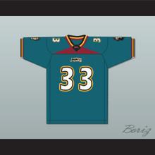 Brent Moss 33 Memphis Maniax Home Football Jersey