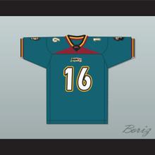 Jim 'Druck' Druckenmiller 16 Memphis Maniax Home Football Jersey