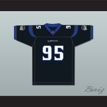 Dwayne 'Big Saab' Sabb 95 New York-New Jersey Hitmen Home Football Jersey
