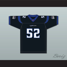 Haven 'Big Boy' Fields 52 New York-New Jersey Hitmen Home Football Jersey