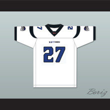 Michael 'Gladiator' Blair 27 New York-New Jersey Hitmen Away Football Jersey