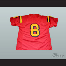 Clark Kent Smallville Football Jersey Any Player Red