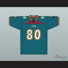 Darryl 'Mantis' Hobbs 80 Memphis Maniax Home Football Jersey