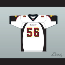 Craig 'Super-C' Powell 56 San Francisco Demons Away Football Jersey