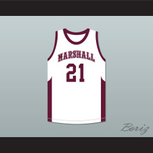 Patrick Beverley 21 John Marshall Metropolitan High School Commandos White Basketball Jersey