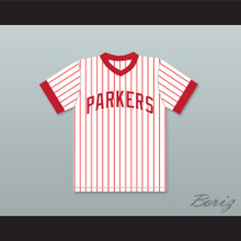 Michael Jordan 23 Parkers Youth Little League Pinstriped Baseball Jersey