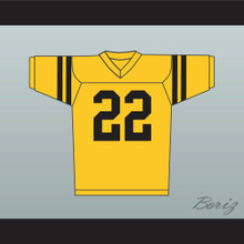 Sylvester Stallone Lincoln High School Football Jersey Yellow