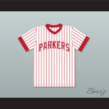 Michael Jordan 23 Parkers Little League Pinstriped Baseball Jersey