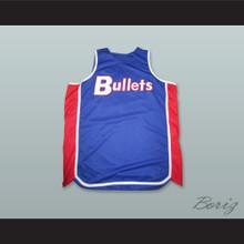 Michael Jordan 23 Baltimore Bullets Blue Basketball Jersey