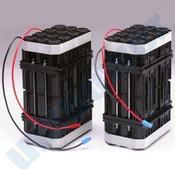 OEC 00-900589-1 Battery 2pc Set 192v 2.5Ah Cyclon Lead Acid