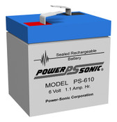Power-Sonic PS-610 Battery