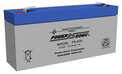 Power-Sonic PS-630 Battery