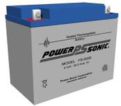 Power-Sonic PS-6200 Battery - 6v 20ah