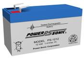 Power-Sonic PS-1212 12V 1.4Ah Battery