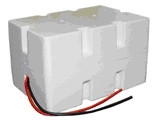 Enersys Cyclon 0810-0067 Battery - 12V 2.5Ah Sealed Lead Rechargeable (Styrene Case)