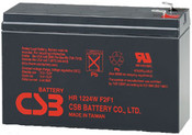 CSB HR1224W F2F1 Battery - 12 Volt 24W/Cell 6.4 Amp Hour