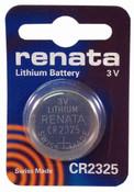 Renata CR2325 Lithium Battery - 3V 190mAh