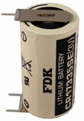 FDK CR17335SE-FT1 Battery - 3 Volt 1800mAh 2/3A Lithium 3 Pins (2+/1-)