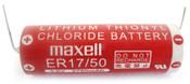 Maxell ER17/50 -2P 3.6V 2750MAH Lithium Battery