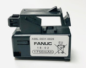 Fanuc A98L-0031-0028, A02B-0323-K102 Single Cell 3V in Cartridge battery replacement