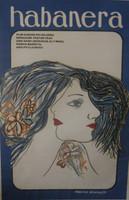 """Francisco Alvarez  """"Habanera,"""" 1984. Silkscreen. 30 x 20 inches."""