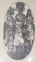 Nelson Dominguez #42. Untitled, N.D. Lithograph print. 26 x 16 inches.