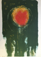Jose Omar Torres #146. Untitled, N.D. Lithograph print edition 8 of 10. 22 x 14.5 inches.