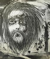 "Isidrio Lopez-Beltran #153. ""Pa esar vivi,"" N.D. Lithograph print edition 8 of 10.  24 x 20 inches."