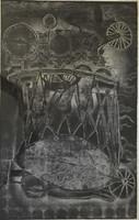 """Miguel Lobaina #1754. """"Los suenos,"""" 1985. Artist proof. 22 x 15 inches."""