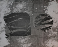 Nestor Vega  #2751. Untitled, 2002. Monotype print. 23 x 18.5 inches. SOLD!