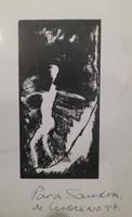 Angel Antonio Moreno #2926 (SL)>NFS. Untitled, 1997. 9.5 x 6.75 inches.