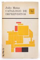 """Raúl Martínez (Cover) """"Catalogo de imprevistos,""""  1963."""